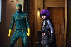 Kick-Ass is a teen-angst movie filtered through the comic book form.
