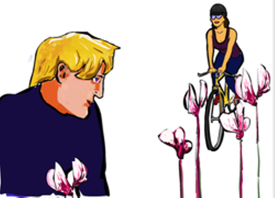 Kids: Now's your chance to meet some truly dreamy cyclists! - MATT SMITH ILLUSTRATION