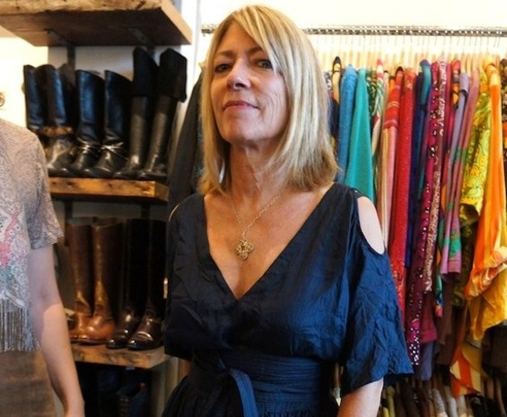 Kim Gordon at Mercy Vintage Now - MEGAN BRE CAMP/COLLECTORS WEEKLY