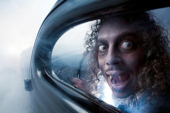 Kirk Hammett, horror freak.