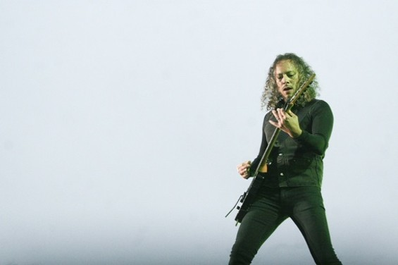 Kirk Hammett won't be the only soloist - CHRISTOPHER VICTORIO