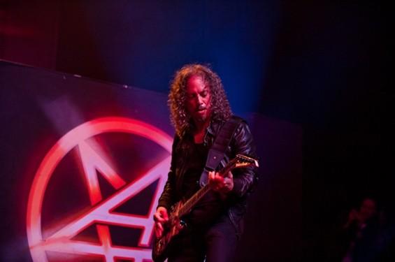 Kirk Hammett! - RICHARD HAICK