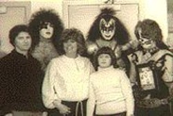 Kiss makes a little girl's rock 'n' roll dreams - come true in Radio Revolution: The Rise - and Fall of the Big 8.