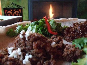 Kitfo and tibs wat: Two Ethiopian takes on beef. - T. PALMER
