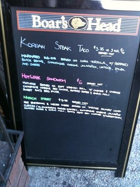 Korean tacos began appearing a few months ago. - LOLIA S./YELP