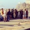 Kristen Wiig and Alexander Skarsgard Film <i>Diary of a Teenage Girl</i> in San Francisco
