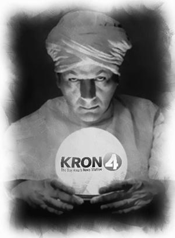 KRON should have seen this story coming...
