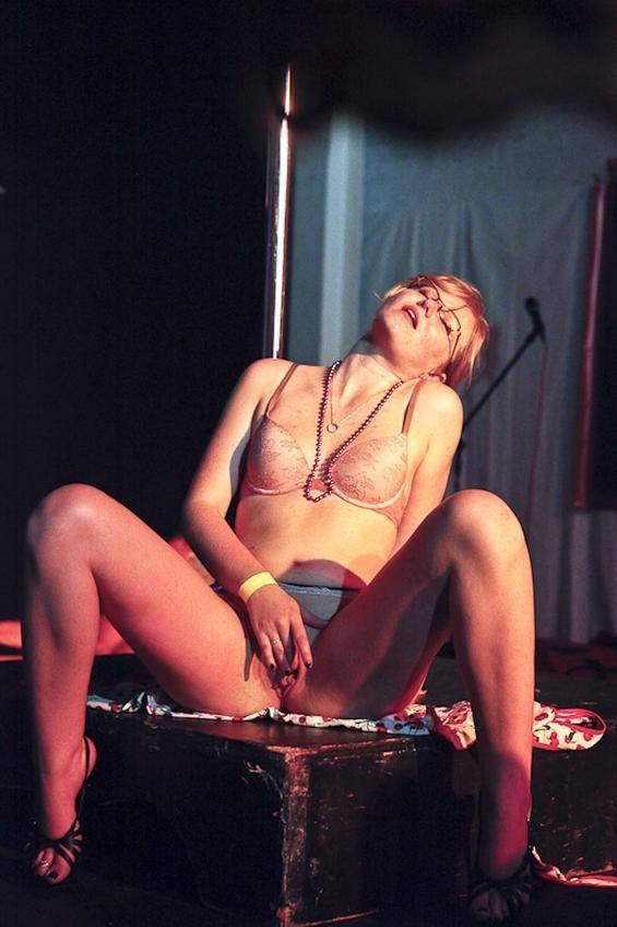Masturbation On Stage