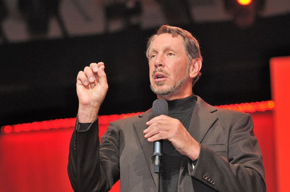 Larry Ellison-- when his country came calling, he took the call. - WIKIPEDIA
