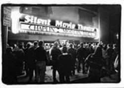 L.A.'s Silent Movie Theatre, shown here at its 1999 - reopening, takes its show on the road.