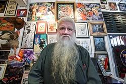 Ron Turner in his personal gallery. - MIKE KOOZMIN