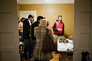Last month's market was in a private home in the Outer Mission. - SF PUBLIC PRESS/FLICKR