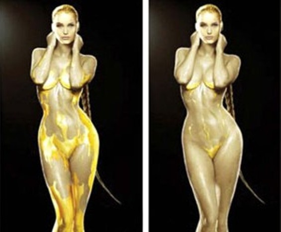 Angelina Jolie Beowulf Nude Scene 14