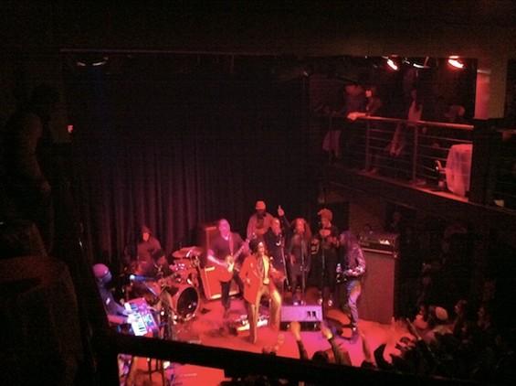 Lauryn Hill at the New Parish last night.