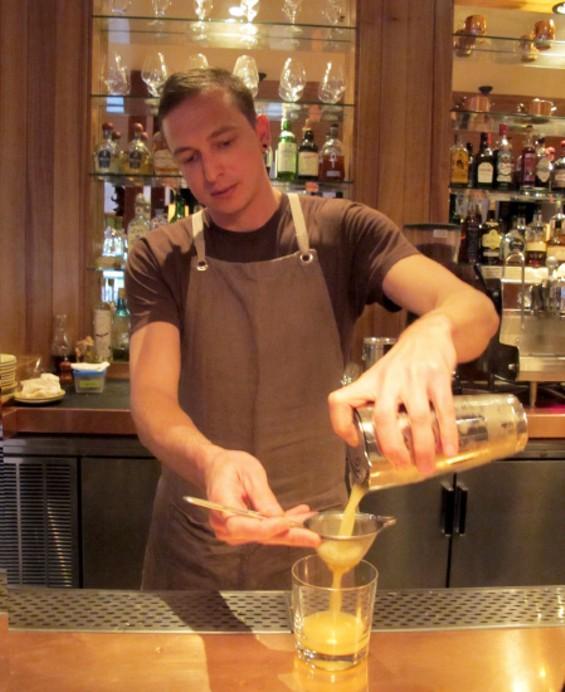Lead Bartender Kenny Dill - LOU BUSTAMANTE