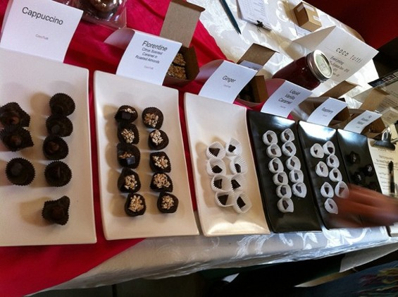 Learn to make your own Coco Tutti's truffles at this weekend's New Taste Marketplace. - NEW TASTE MARKETPLACE