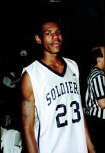 LeBron James, the most famous Soldiers alum.