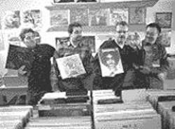 AKIM  AGINSKY - Left to right: Chris Veltri, Justin Torres, Dick - Vivian, and Oliver Wang.