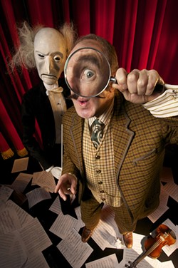 Lemony Snicket's The Composer is Dead at the Berkeley Rep is bound to be witty, grim, kid-pleasing fun.