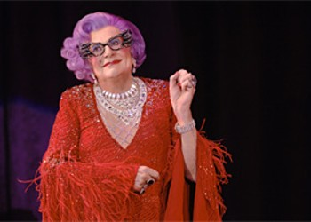 Dame Edna, the Crowd Pleaser