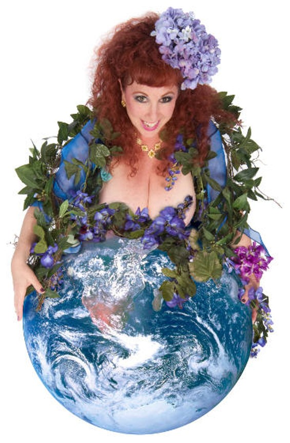 """""""Let there be pleasure on Earth, and let it begin with me,"""" says Annie Sprinkle. - JULIAN CASH"""