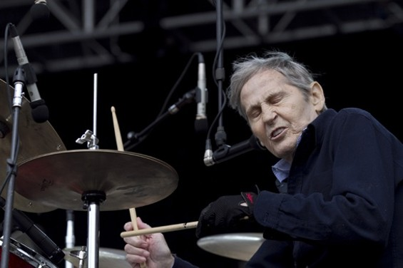 Levon Helm performing at San Francisco's Outside Lands festival in 2009. - CHRISTOPHER VICTORIO