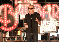 CHRISTOPHER VICTORIO - Lewis Black at Barbary Stage in Outside Lands.