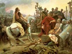 Like MySpace, the rebellious Vercingetorix eventually surrendered to Caesar