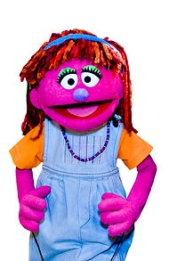 Lily, the hungry Muppet. - SESAME WORKSHOP