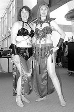 PAUL  TRAPANI - Linda Donahue and Julia Mandela.