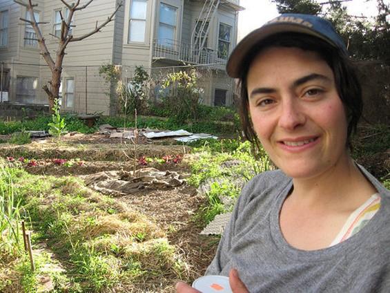 Little City Gardens' Brooke Budner. - EDIBLEOFFICE/FLICKR