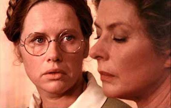 Liv Ullmann and Hollywood legend Ingrid Bergman in Ingmar Bergman's Autumn Sonata (1978).