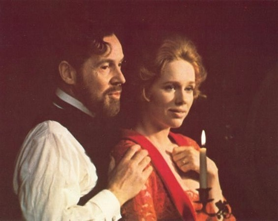 Liv Ullmann, with Erland Josephson, in Bergman's Cries and Whispers.