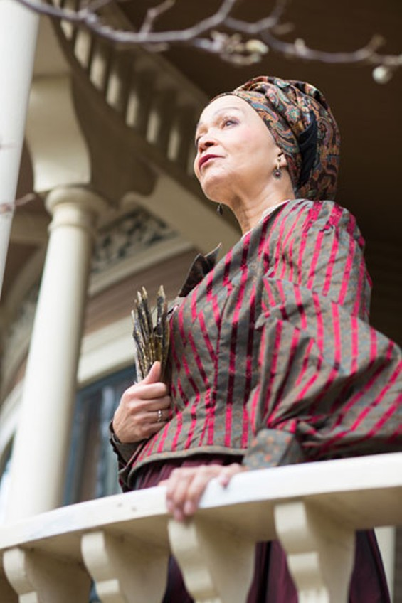 "Lizan Mitchell (Beartrice), the matriarch of the Albans family in ""The House that will not Stand."" - PHOTO BY CHESHIRE ISAACS"