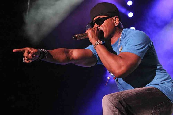 LL Cool J headlines King of the Mic at Shoreline. - CHRISTOPHER VICTORIO