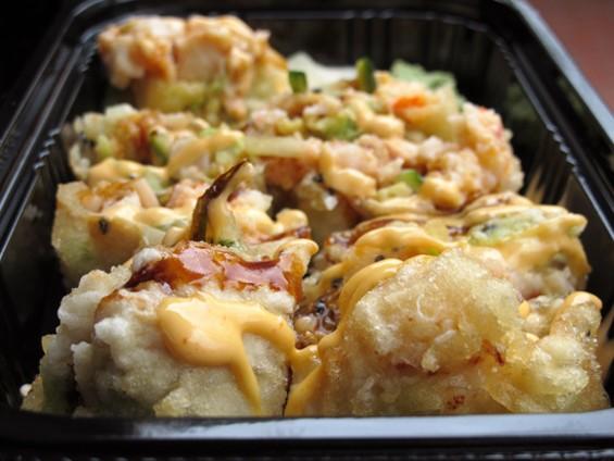 Lobster Crunch Roll - LOU BUSTAMANTE