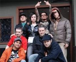 ANGELA  POOLE - Local dubstep crew (clockwise from bottom left): DJ Cyan, MC Child, Sam Supa, Kozee, Juju, DJ Ripple, Miro Wiesner, Djunya.