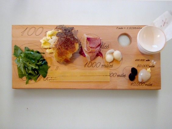 Local food shows up in big portions. Stuff from far away, not so much. - RAPHAEL BRION/EATMEDAILY.COM