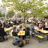 Biergarten: Liters of Beer, Hearty German Grub, and One of the City's Best Burgers