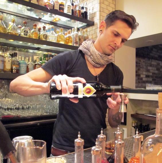 Lolinda bar manager Chris Lane - LOU BUSTAMANTE