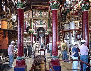 London's Crossness sewage-pumping station, site of the April 2 event. - STEVECADMAN/FLICKR