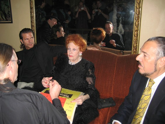 Lorenzo Lamas, Arlene Dahl and her husband Marc Rosen