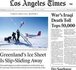 Los Angeles Times takes the new out of news