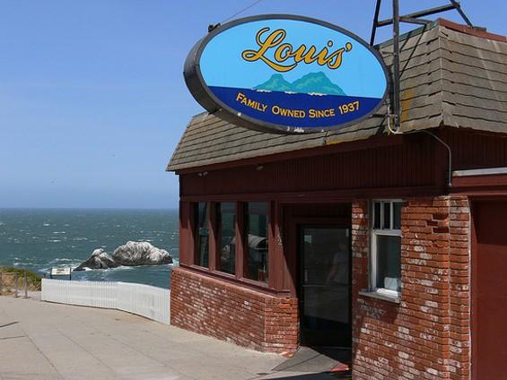 Louis' Restaurant. - DAN MACHOLD/FLICKR
