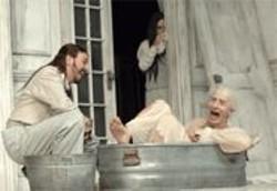 KEVIN  BERNE - Love Me, Love My Money: Valere (Jim Lichtscheidl) and Harpagon (Steven Epp).