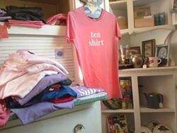 Lovejoy's Tea Shirt. - TAMARA PALMER