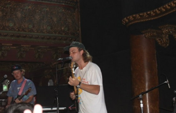 Mac DeMarco at Great American Music Hall last night.