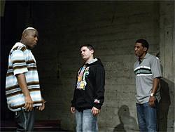 "SHARIF ABU HAMDEHA - Macon Detornay (Dan White) strives to be ""the downest white boy in history."""