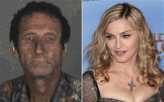 Madonna and stalker Robert Dewey Hoskins