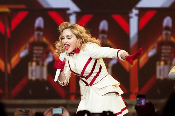 MADONNA AT HP PAVILION